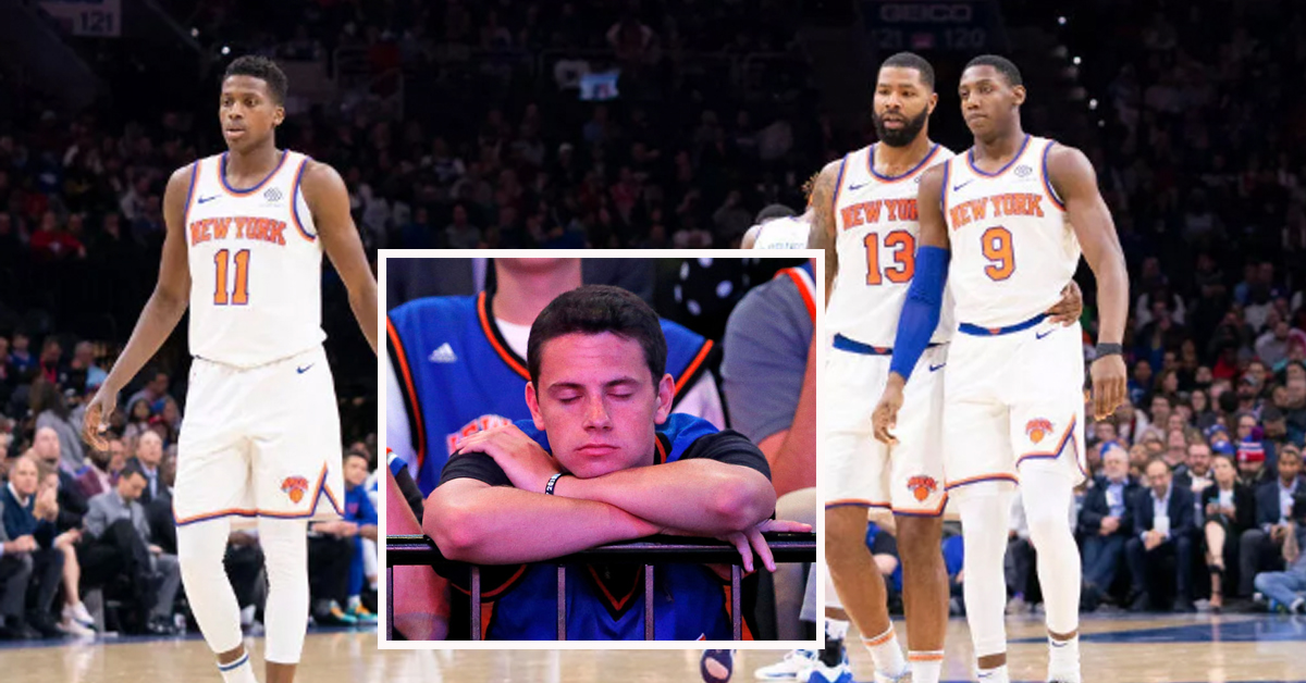 knicks hello darkness my old friend