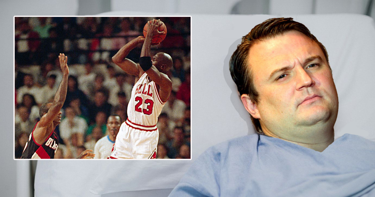 Daryl Morey in critical condition after watching so much footage of Jordan taking long twos