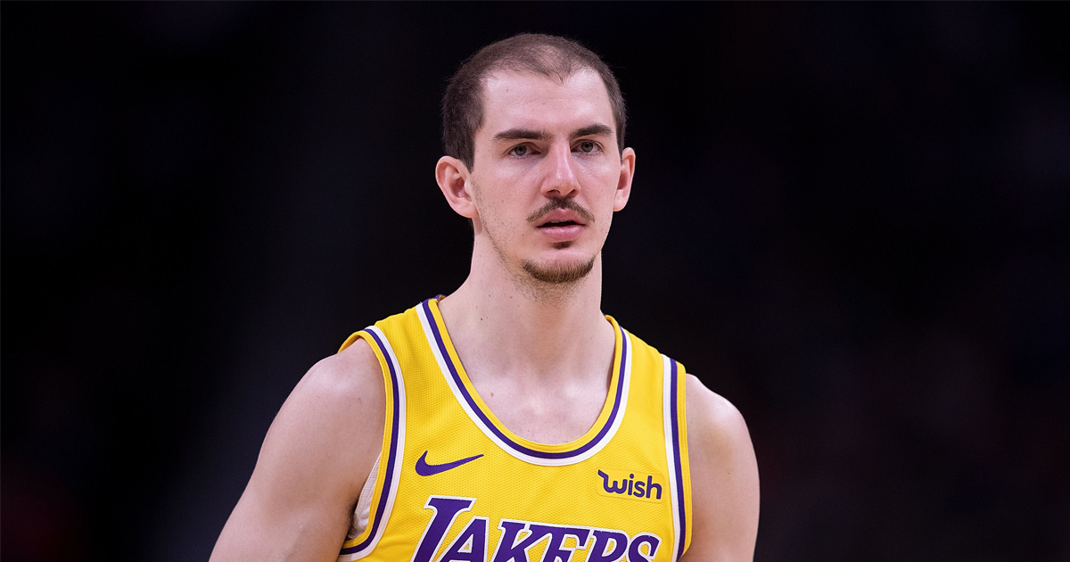 Alex Caruso to Laker teammates: 'Stop asking me to do your taxes'