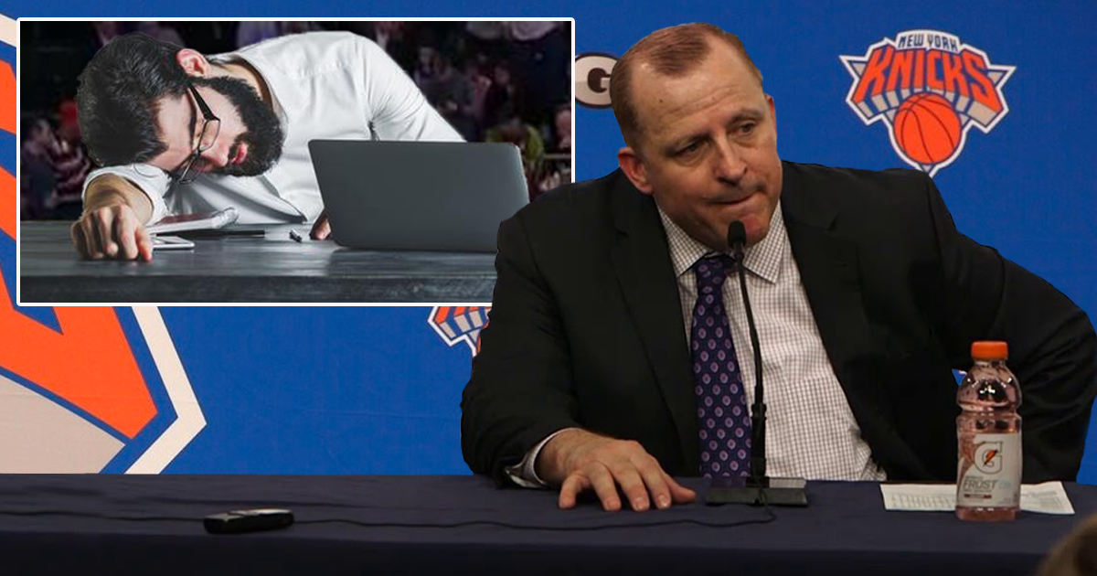 Tom Thibodeau puts New York media through grueling 4-hour press conference