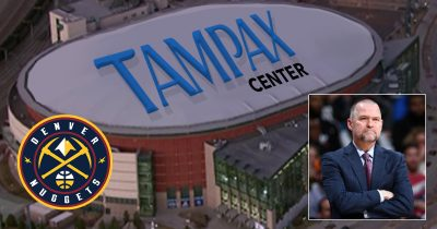 Nuggets' Toughness Questioned After Arena Renamed 'Tampax Center'
